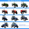 55HP Agriculture Use 4 Wheel Drive Farm/Mini/Lawn/Compact/Small/Wheel/Garden Tractor