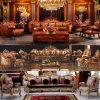 Living Room Furniture with Luxury Leather Sofa (962D)