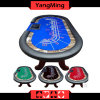 Texas Holdempoker Table / Stainless Cup Holders Two-Generation Upgrade H Foot Casino Texas Poker Table 10 Player (YM-TB020)