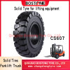 Chinese Wholesale Factory industrial Forklift Tire Solid Tyre 4.00-8