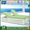 Adjuestable Sun Lounger with Armrest Lounger Patio Wikcer Furniture Tg-Hl046