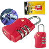 Tsa Customs Security Lock Global Sales Tsa338 3bit Password Lock Luggage Padlock Baggage Package Lock Customs Inspection Lock