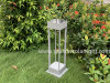 Factory Lighting Distributor Energy Saving Lamp Outdoor Solar Garden Lamp with LED Lighting Lamp & Solar Panel