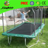 Square Outdoor Kids Trampoline Bed
