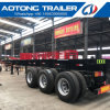 3 Axle with Front Lift Axle Skeleton Container Semi Trailer
