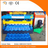 China Color Coated Roofing Sheet Steel Profile Roll Forming Machine