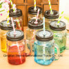 Low Price Hot Selling Glassware Mason Glass Bottle with Handle