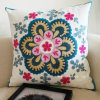 45X45cm Embroidery 100% Cotton Decorative Sofa Pillow Cushion Cover (C14106)