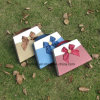 New Design Chocolate Box with Delicate Ribbon Bowknot