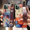 Geometrical Design with Wrist Strap Phone Case for iPhone 11 11 PRO 11 PRO Max