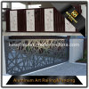 Laser Cut Perforated Aluminum Metal Sheet Garden Fence