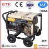 Single Cylinder Air Cooled Open Type Diesel Generator