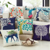 New Design Digital Print Square Cushion Cover Decorative Throw Pillow Case