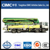 45m Truck-Mounted Concrete Boom Pump with Benz Chassis