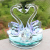 Crystal Swan Perfume Bottles for Decor & Gifts