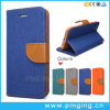 Denim Leather Flip Cover Phone Case for iPhone 6/6s