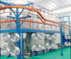 High Standard Automatic Electrostatic Powder Coating Assembly Line