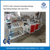 Double Layers Easy Operation High Quality Automatic Rolling on Bag Making Machine for Flat Bags in Supermarket