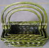 Square Wicker Baskets for Christmas