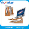 Universal Natural Bamboo Vertical Dock Computer Mounts for MacBook Wood Laptop Stand