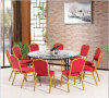 Hotel Stackable Banquet Wedding Chair and Table Set (LL-WST009)