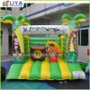 2021 New Customized Jungle Theme Inflatable Bouncy Obstacle Castle