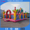 Outdoor Playground Bouncy Slide Combo