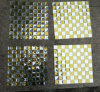 Gold Mix Silver Mosaic Tile, Mirror Mosaic (HD092)