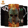 Design Your Own Multi Colour Skull Polyester Scarf