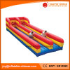 2018 Double Lane Inflatable Bungee Run for Adults Sport Game (T7-007)