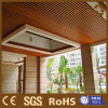 Indoor Decoration WPC Wood Fire Resistance Ceiling (40X25mm)