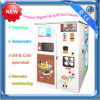Bill and Coin operated Vending Soft Ice Cream Machine