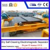 Dry Self-Cleaning Electro Magnetic Separator for Removing Iron