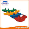 New Plastic Baby Crocodile Seesaw, Cartoon Ride Seesaw
