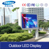 Iron Cabinet 960X960 Size P10 Big Outdoor LED Display Screen