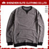 2017 Newest Design Comfortable Grey Sweaters Hoodies Without Hood (ELTHI-49)