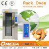 Gas Rotary Rack Oven for Bakery Equipment, 18trays Hot Air Rotary Furnace