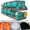 High Capacity Dry Powder Double Shaft Mixer/ Biaxial Mixing Machinery