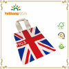 Promotional Custom Standard Size UK Flag Cotton Canvas Tote Bag