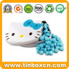 Gift Packaging Box Hello Kitty Metal Tin for Mint Candy
