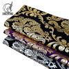 Modern Design Suede Golding Wallpaper 3D Glitter Flower Laser Print Fabric Wallpaper