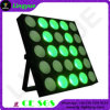 25 Heads 10W Warm White LED Matrix Blinder Light