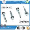 SS316 1022 Hex Washer Head Bi-Metal Screw