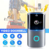 Smart Wi-Fi Video Doorbell Smart Home 1080P HD Video Camera Two-Way Audio PIR Motion Detection Night Vision Waterproof iOS & Android CCTV