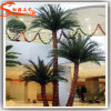 Hot Sale Indoor Decoration Fiberglass Artificial Palm Tree