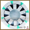 Diamond Satellite Wheel for Granite Slab Rough Grinding, Grit 24