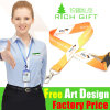Custom Factory Lanyard Polyester Sublimation Neck Strap with Plastic Buckle