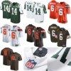 Jets Sam Darnold #14 Browns Baker Mayfield #6 National PRO Football Jerseys