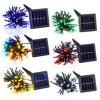 unique 50pcs LED solar string light with touch control