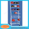 6 Tiers White Retail Wire Hat Display Rack for Retail Store